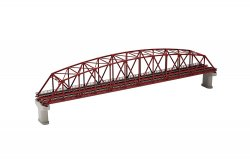 Curved-Chord Truss Bridge Set (F) (with 2 Con