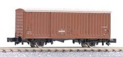 2714 J.N.R. Covered Wagon Wamu 80000 N-Scale