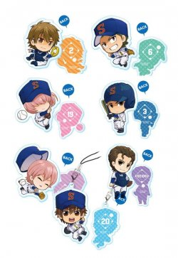 Acrylic Charm Collection Ace of Diamond 8 pie