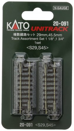 20-091 29mm, 45.5mm Track Assortment Set