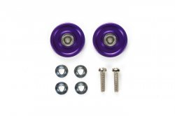 95049 13mm Alum Ball Race Rollers - Ringless/Violet