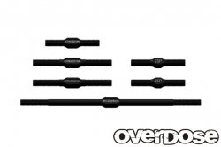 OD2368 Aluminum Turnbuckle Set For OD / Black