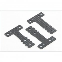 MZW404 Carbon Rear Suspension Plate Set