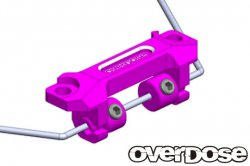 OD2363 Aluminum Stabilizer Mount Set Purple