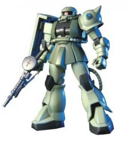 [31st MAY 2021] HGUC040 MS-06 ZAKU II