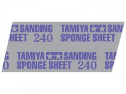 87162 Tamiya Polishing Sponge Sheet 240