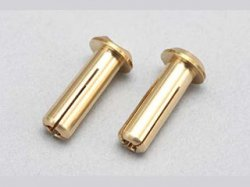 RP-053 Racing Performer 24K Battery Connector (4mm / 2pcs)