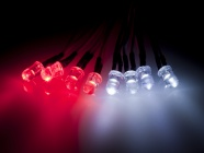 01075117 8 LED Light Steady Type (4x White, 4x Red)