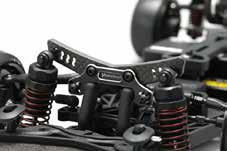 Y2-017AGB Hybrid Front Shock Tower YD-2 Black