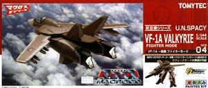 MCR04 1/144 VF-1A VALKYRIE FIGHTER MODE - Click Image to Close