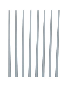 Plastic Taper Round Bar (Gray) 2.0~4.0 (8pcs)