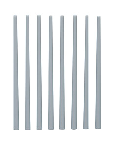Plastic Taper Round Bar (Gray) 3.0~5.0 (8pcs)