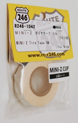 R246-1042 Route 246 Mini-z Tire Tape (Wide) 5m