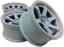 SPA-426 VOLK Racing TE37 Wheels White 8mm Offset (2 pcs)