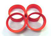 TIR-0010 X Type Inner Orange Super Soft (4pcs)